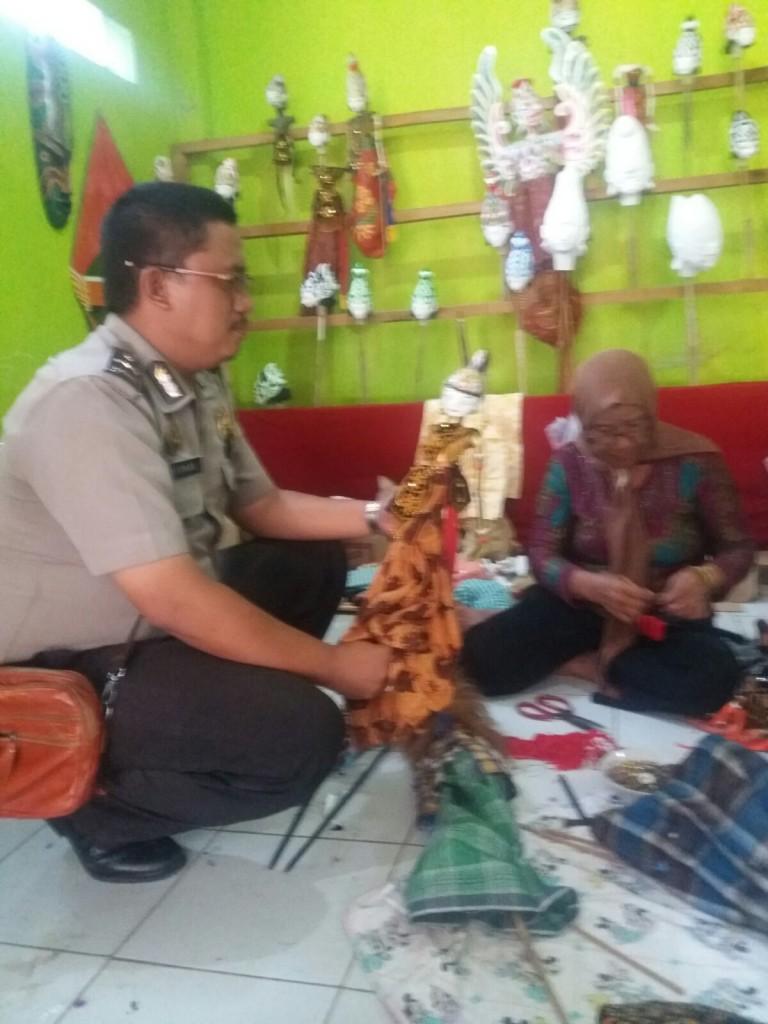 Giat Binluh Bhabinkamtibmas Kelurahan Loji – Polresta Bogor Kota