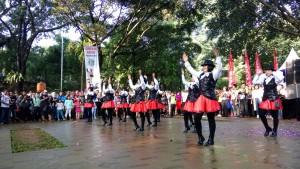 Launching Si POBO, Polwan Polres Bogor Kota Unjuk Gigi Jadi Dancer