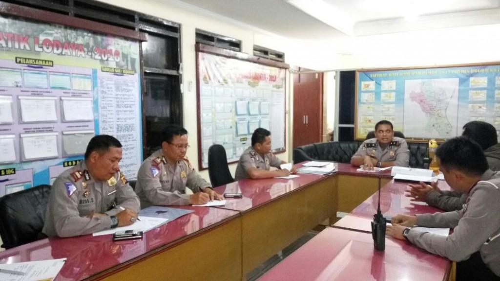 b59112a0ed432f Antisipasi Kepadatan Arus Lalin Saat Long Weekend, Polres Bogor Kota Gelar  Rapat Kesiapan