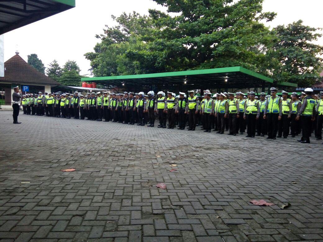 250 personil Polantas Polres Bogor Kota, disiagakan saat Long Weekend