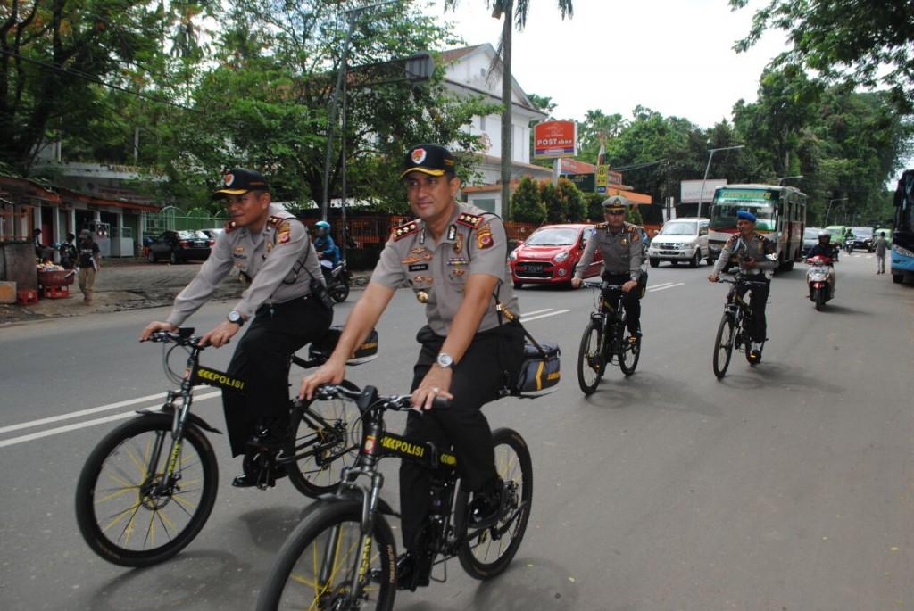 Kontrol Arus Lalu Lintas Dan Sapa Warga, Kapolresta Bogor Kota